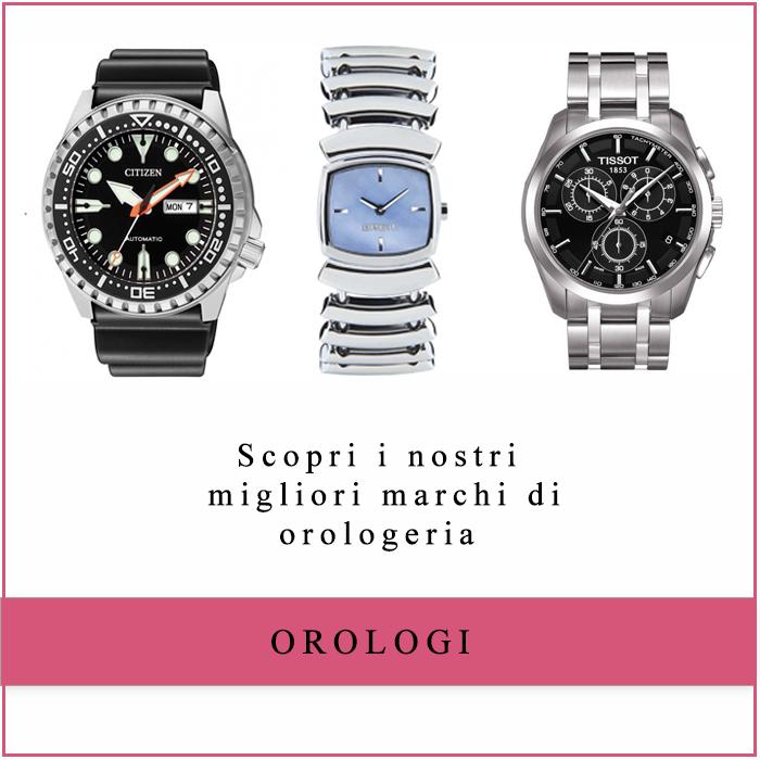 Visita il catalogo online degli orologi!